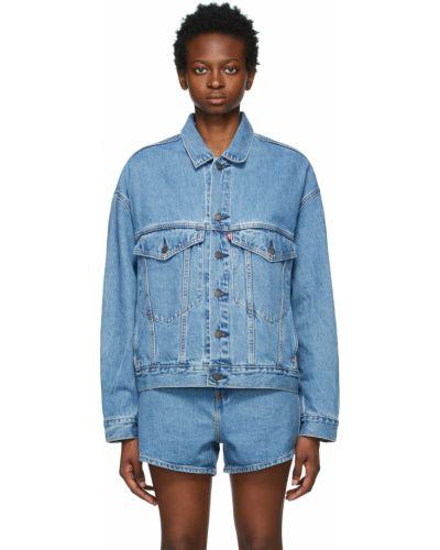 Хлопковая джинсовая куртка - синяя Levi's®