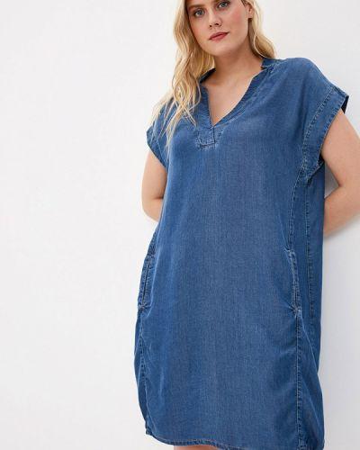 Джинсовое платье весеннее синее Samoon By Gerry Weber