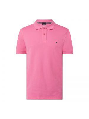 Różowy t-shirt bawełniany Christian Berg Men