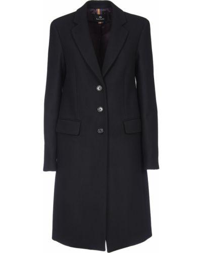 Czarny płaszcz Paul Smith