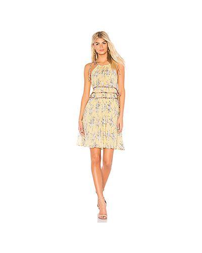 Платье через плечо на молнии Rebecca Taylor
