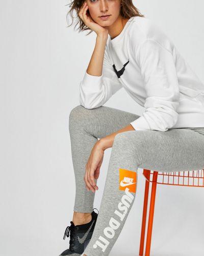 Кофта спортивная белая Nike Sportswear