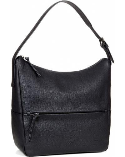 Кожаная сумка из лисы на плечо Ecco
