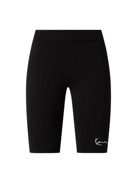 Czarne spodnie bawełniane Karl Kani