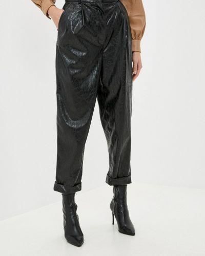 Кожаные черные брюки Anastasya Barsukova