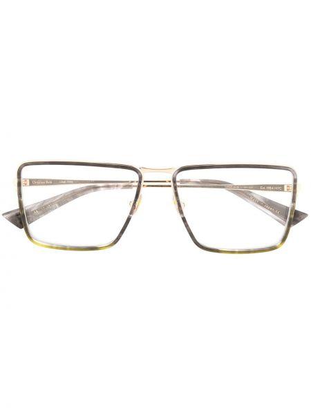 Прямые солнцезащитные очки металлические Christian Roth