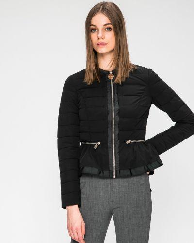 Утепленная куртка черная на молнии Marciano Guess