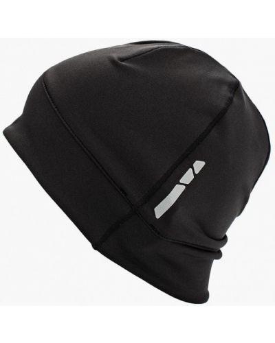 Черная шапка осенняя Salomon