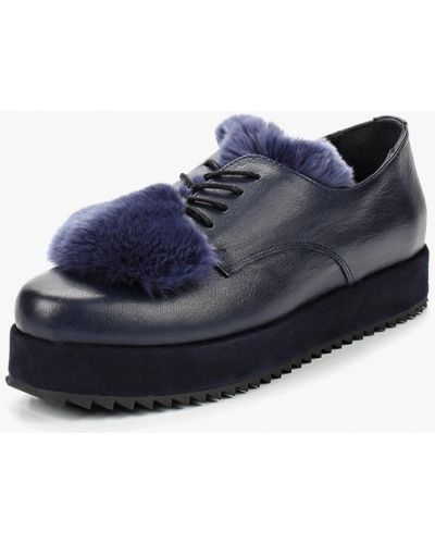 Кожаные ботинки осенние 2019 Grand Style