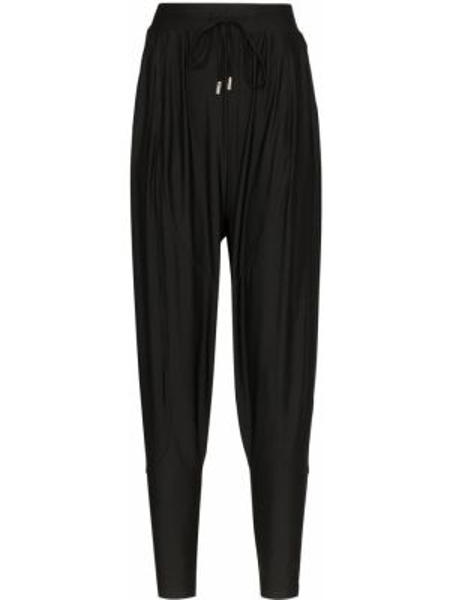 Черные спортивные брюки с поясом узкого кроя Charli Cohen