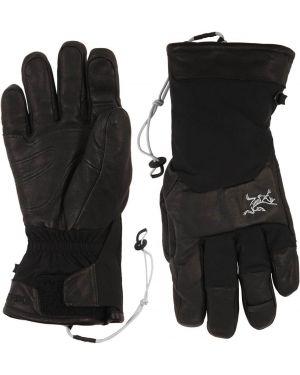 Skórzany rękawiczki z mankietami nylon Arcteryx