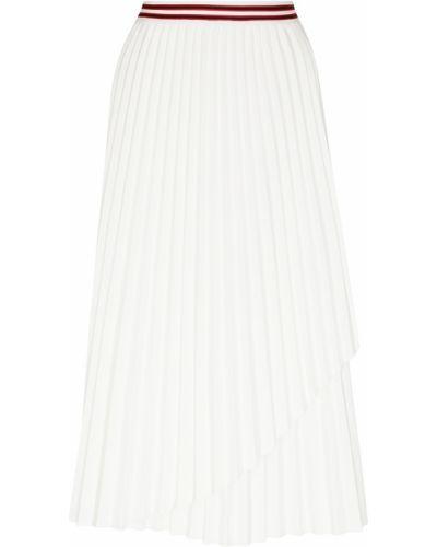 Плиссированная юбка с запахом макси Maje