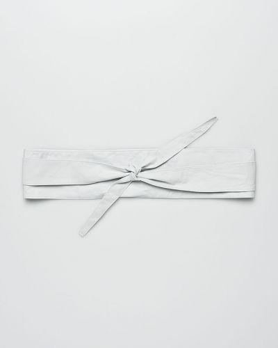 Белый ремень кожаный Answear