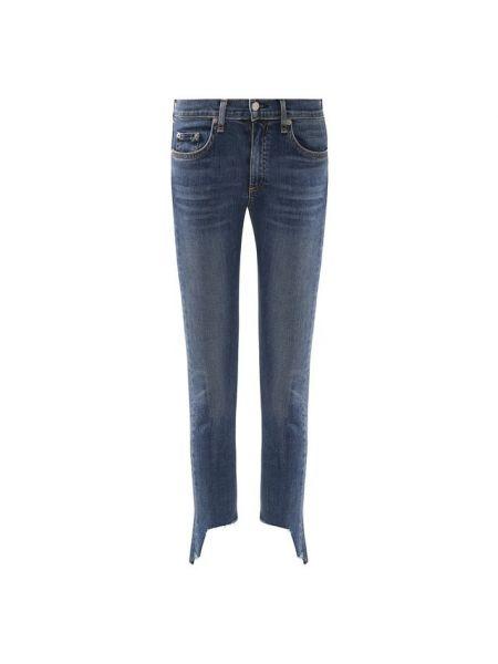 Укороченные джинсы винтажные скинни Rag&bone