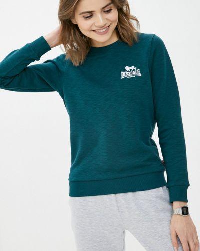 Зеленый свитшот Lonsdale