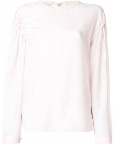 Блузка с бантом шелковая Cédric Charlier