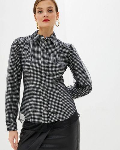 Черная блузка с длинными рукавами Guess Jeans