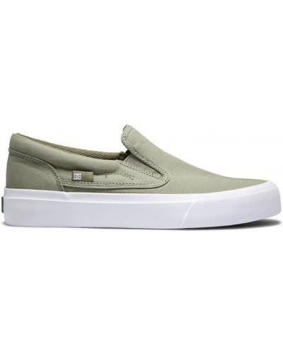 Слипы - зеленые Dc Shoes