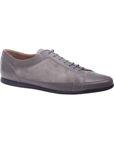 Серые кроссовки замшевые Pakerson
