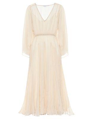 Летнее платье макси с завышенной талией Rhode