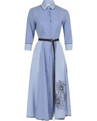 Хлопковое платье - синее Beatrice.b