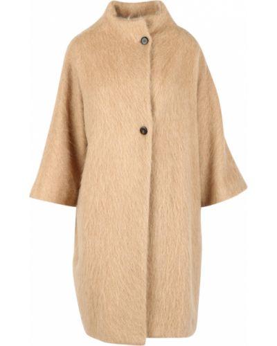 Beżowy płaszcz Pomandere