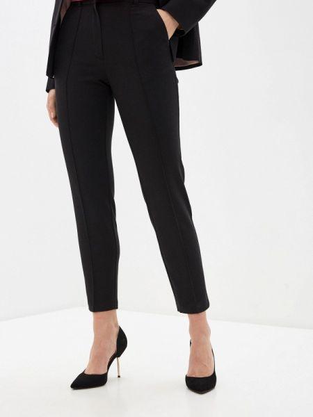 Черные классические брюки с карманами Lorani
