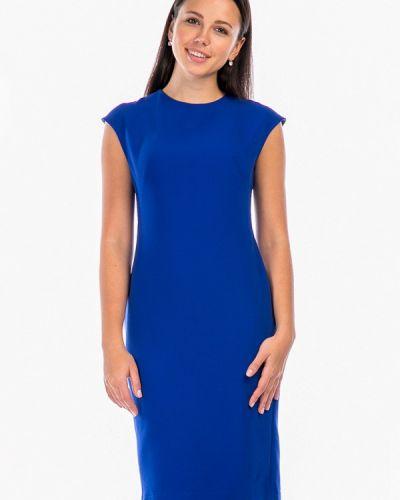 Платье осеннее синее Mankato