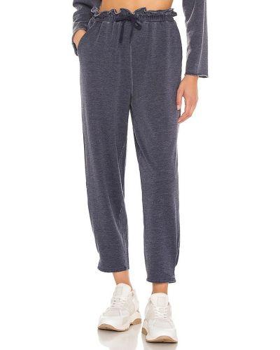 Классические брюки - синие 525