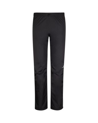 Зауженные черные утепленные спортивные брюки Nordway