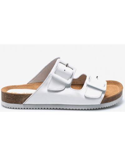 Белые сандалии резиновые Carinii