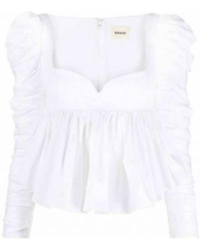 Biała koszulka Khaite