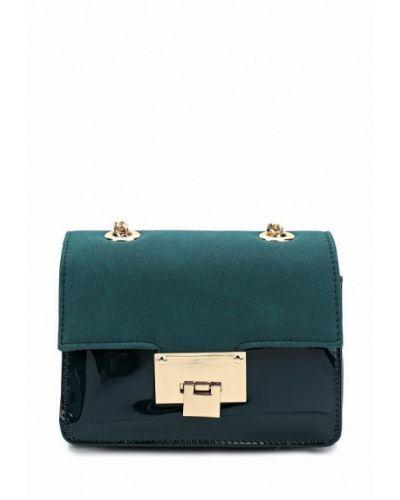 Кожаный сумка лаковая Zarina