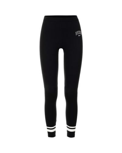 Спортивные брюки хлопковые эластичные Nike