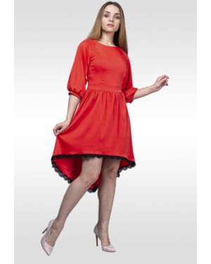 Платье с поясом платье-сарафан на молнии Lila Classic Style