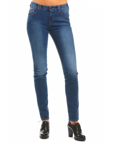 Хлопковые джинсы - синие Armani Jeans