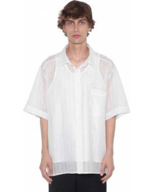 Классическая рубашка с воротником с заплатками с карманами Botter