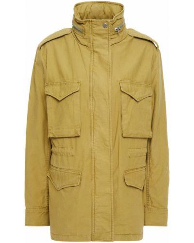 Зеленая куртка с капюшоном Rag & Bone