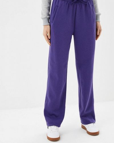 Фиолетовые классические брюки с карманами Urban Classics