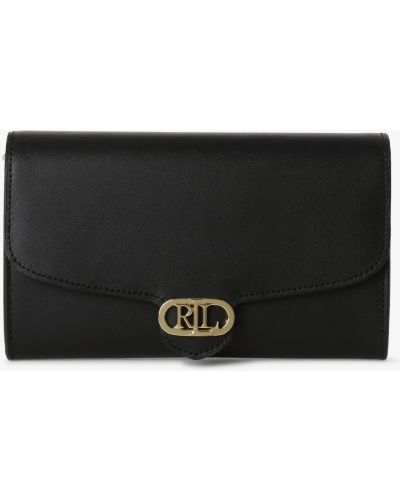 Czarna kopertówka elegancka Lauren Ralph Lauren