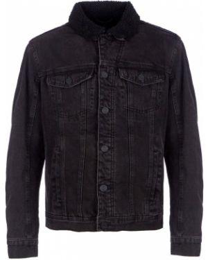 Джинсовая куртка черная Blend