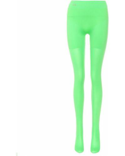Rajstopy zielony Balenciaga