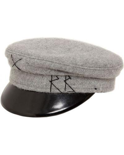 Кожаная кепка Ruslan Baginskiy