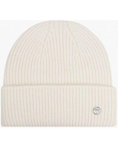 Белая зимняя шапка Ferz