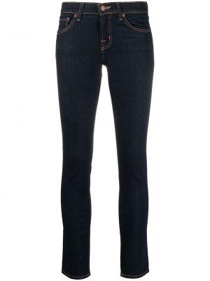 Брендовые джинсы-скинни с низкой посадкой на молнии J Brand