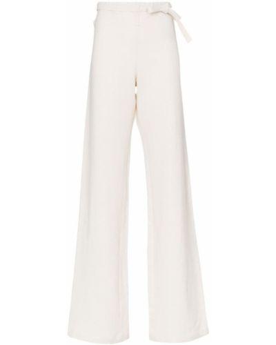Прямые свободные брюки с воротником с поясом A_plan_application
