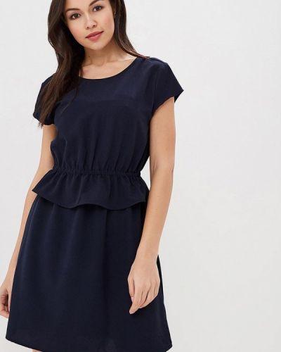 Синее платье весеннее Only