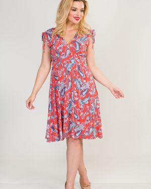 Платье с поясом платье-сарафан марита