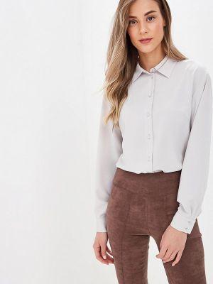Блузка с длинным рукавом серая Ruxara