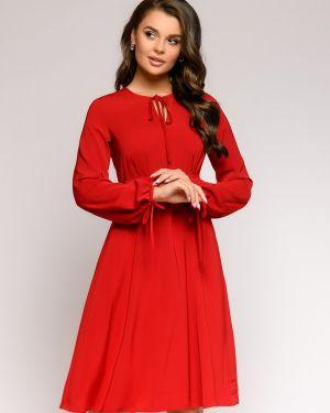 Повседневное платье платье-сарафан из крепа 1001 Dress